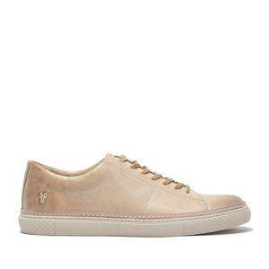 $228 New Frye Essex Low Leather Sneaker 10.5